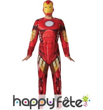 Costume Iron Man Universe pour adulte, Avengers