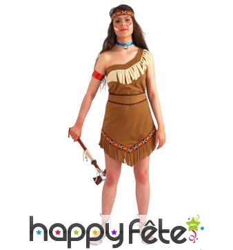 Costume indienne petite plume