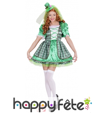Costume irlandaise saint patrick
