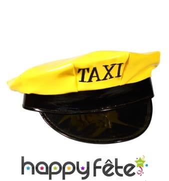 Casquette jaune de taximan