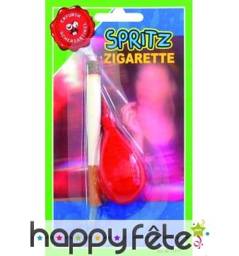 Cigarette jet d'eau