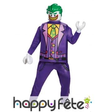 Costume Joker Lego de luxe pour adulte