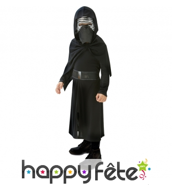Costume Kylo Ren pour enfant, Star Wars 7