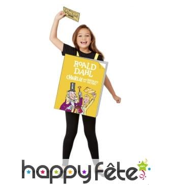 Costume livre Charlie et la chocolaterie, enfant