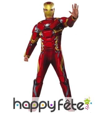 Combinaison luxe de Iron Man pour adulte