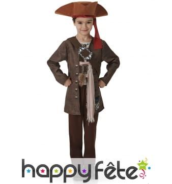 Costume luxe de Jack Sparrow pour enfant