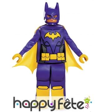 Costume luxe de lego Batgirl pour enfant