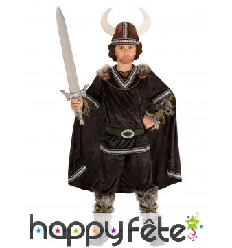 Costume luxe de viking pour enfant