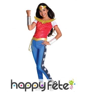 Costume luxe de Wonder Woman pour enfant