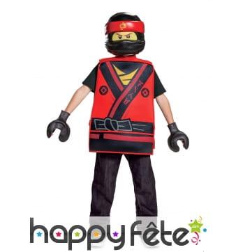 Costume Lego Kai Ninjago pour enfant