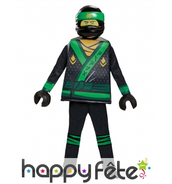 Costume LEGO Lloyd Ninjago enfant, luxe