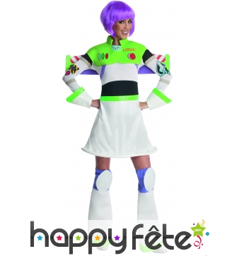 Costume licence miss buzz l'eclair