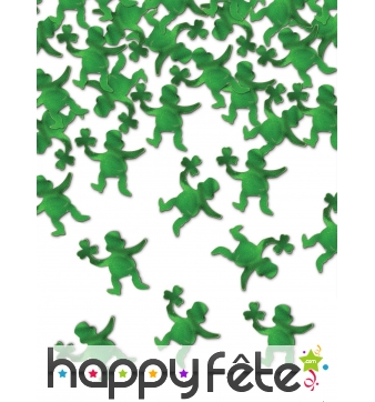 Confettis leprechaun pour table