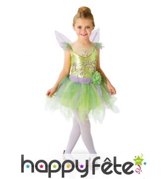 Coffret luxe robe de Fée Clochette pour enfant