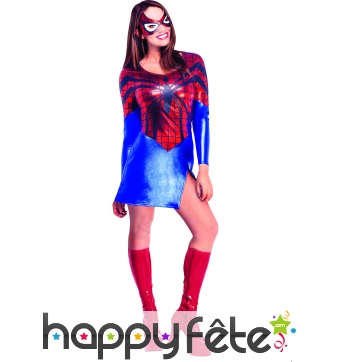 Costume licence spider girl