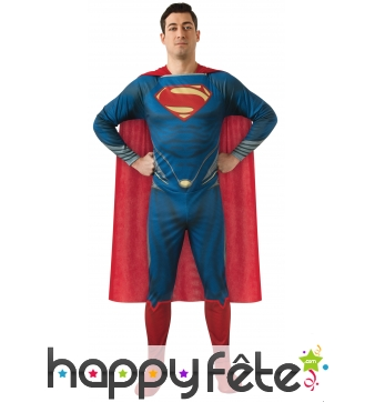 "Costume licence Superman ""Man of Steel"" adulte"