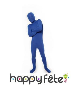Combinaison Morphsuit bleue pour enfant