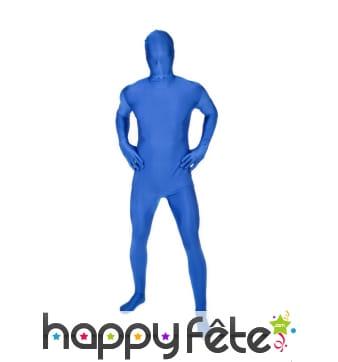 Combinaison Morphsuit bleue