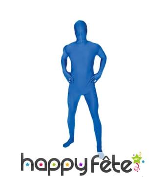 Costume Morphsuit bleu premier prix