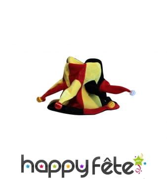 Chapeau multicolore de fou du roi