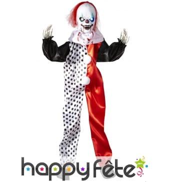 Clown monstre décoratif lumineux de 90 cm