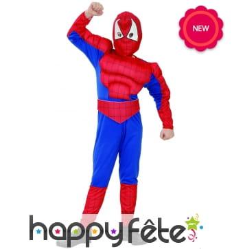 Combinaison musclée de petit Spiderman