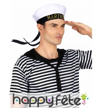 Chapeau marine homme