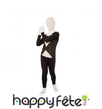Costume Morphsuit smoking pour enfant