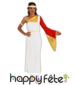 Costume noble romaine