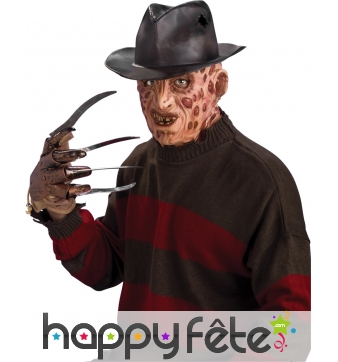 Chapeau officiel de Freddy Krueger