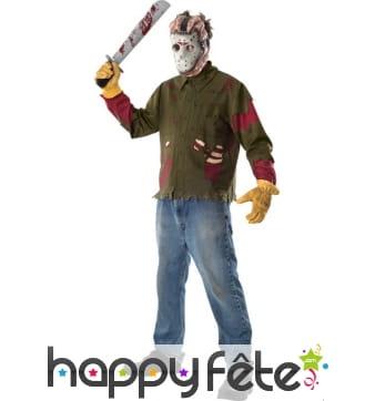 Costume officiel de Jason, Vendredi 13