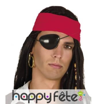 Cache oeil et boucle d'oreille de pirate