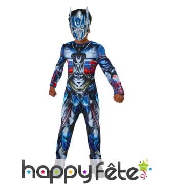 Combinaison Optimus Prime pour enfant