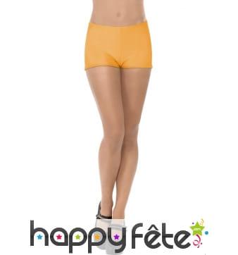 Culotte orange sexy