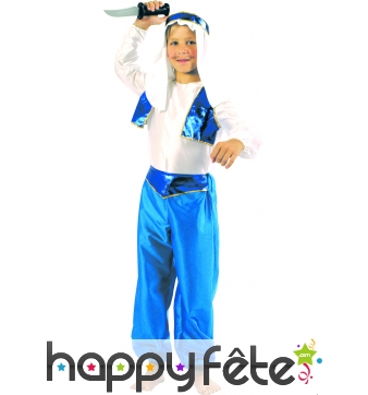 Costume prince arabe enfant