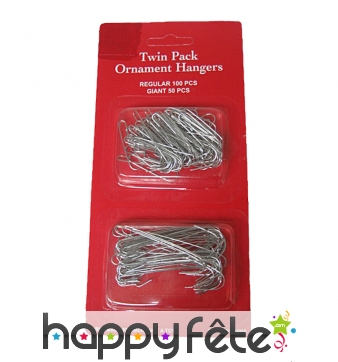 Crochets pour boules de Noël