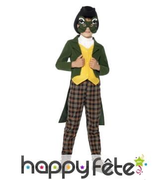 Costume prince charmant grenouille enfant