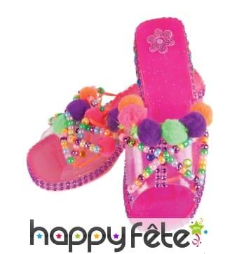 Chaussures personnalisable de petite princesse
