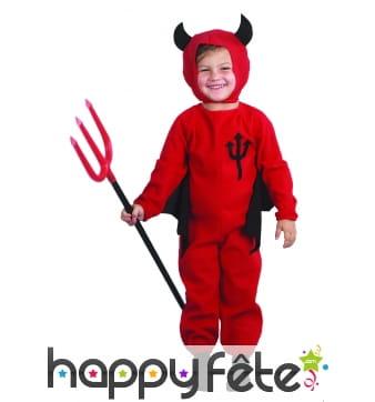 Combinaison petit diable pour enfant