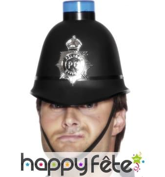 Casque policier gyrophare