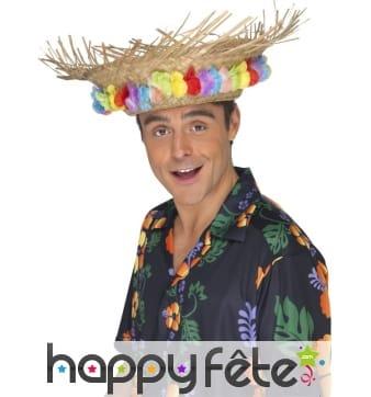 Chapeau paille hawai