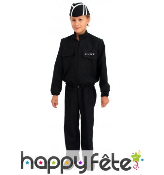 Costume police nationale 1er prix