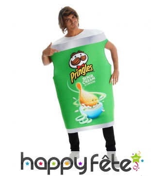 Costume Pringles oignon pour adulte