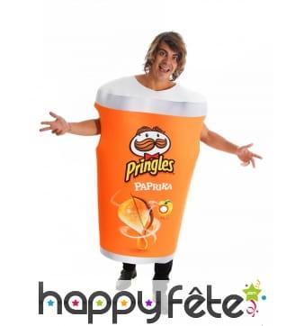 Costume Pringles paprika pour adulte