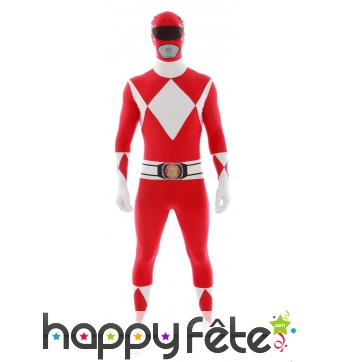 Combinaison Power Rangers rouge, Morphsuits