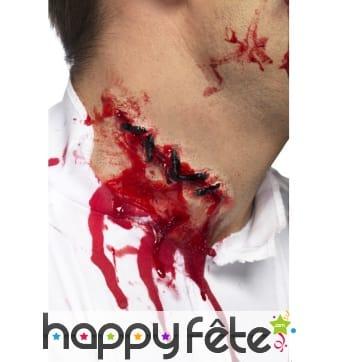 Cicatrice point suture