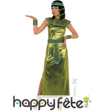Costume reine cléopâtre doré