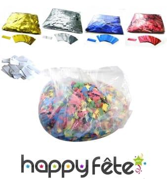 Confettis rectangulaires de scène, 10kg
