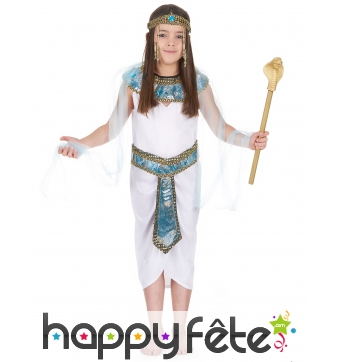 Costume reine d'Egypte pour enfant