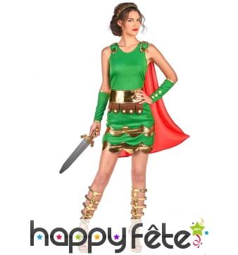 Costume robe de femme centurion
